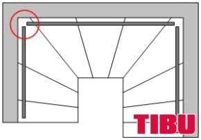 TIBU Treppenshop Hinweis Treppenecken komplett